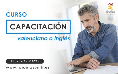 Capacitación UMH inglés y valenciano